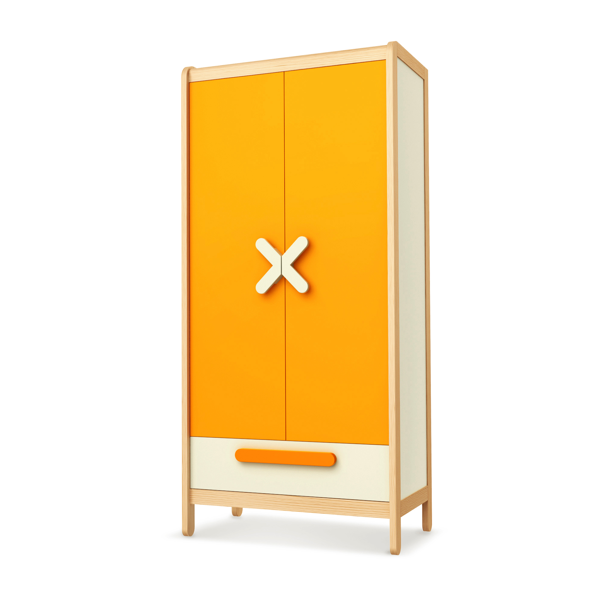 Kleiderschrank Simple Orange, Timoore