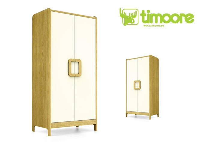 Kleiderschrank First Orange 2T, Timoore