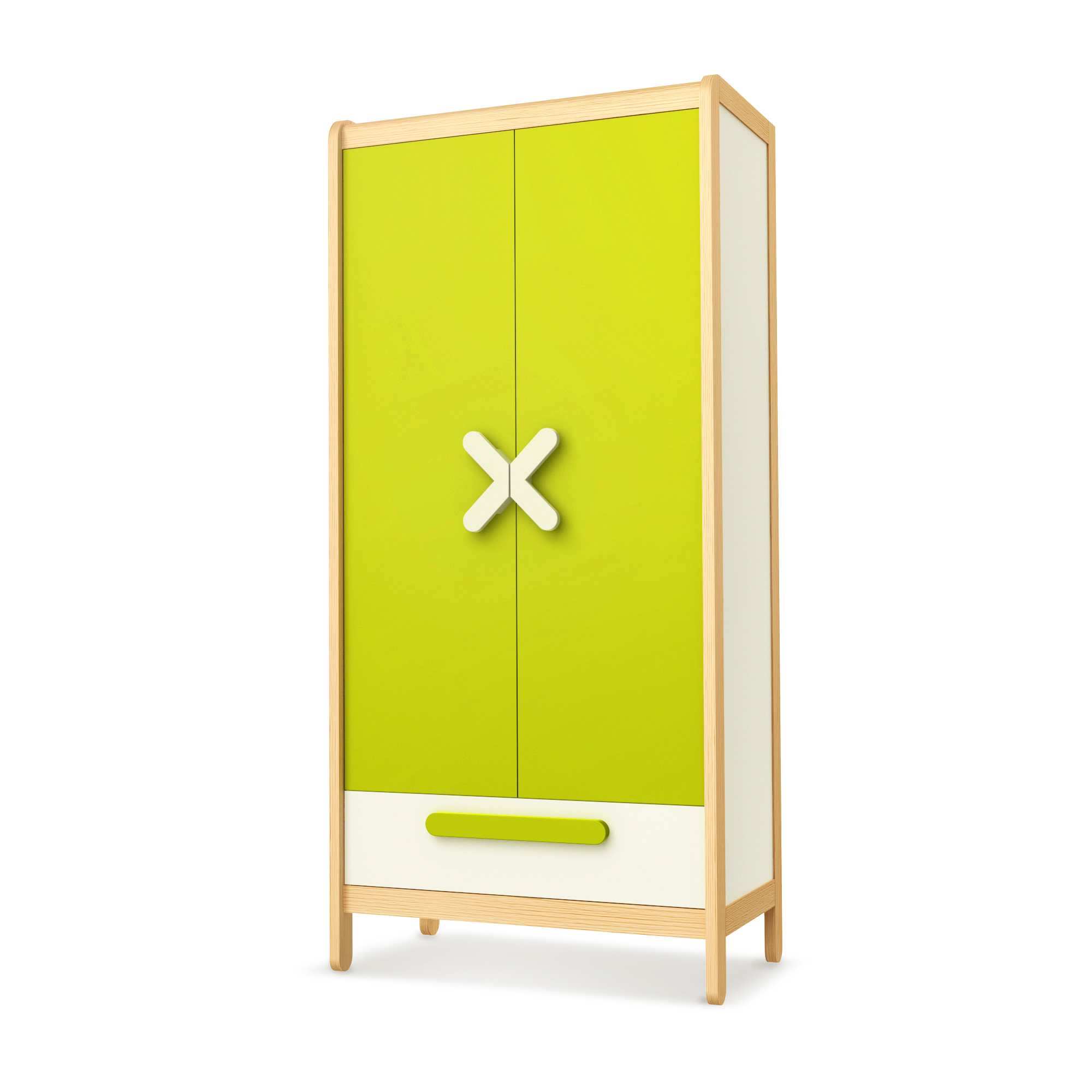 Kleiderschrank Simple Green, Timoore