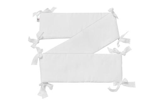 Nestchen / Kopfschutz Leinen White, Bellamy