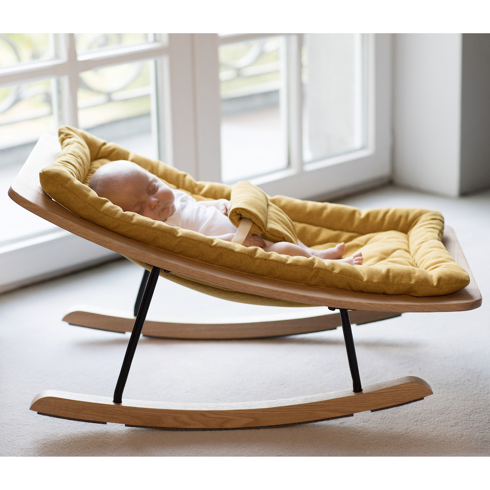 Babywippe Rocking Baby Bouncer Safran, Quax
