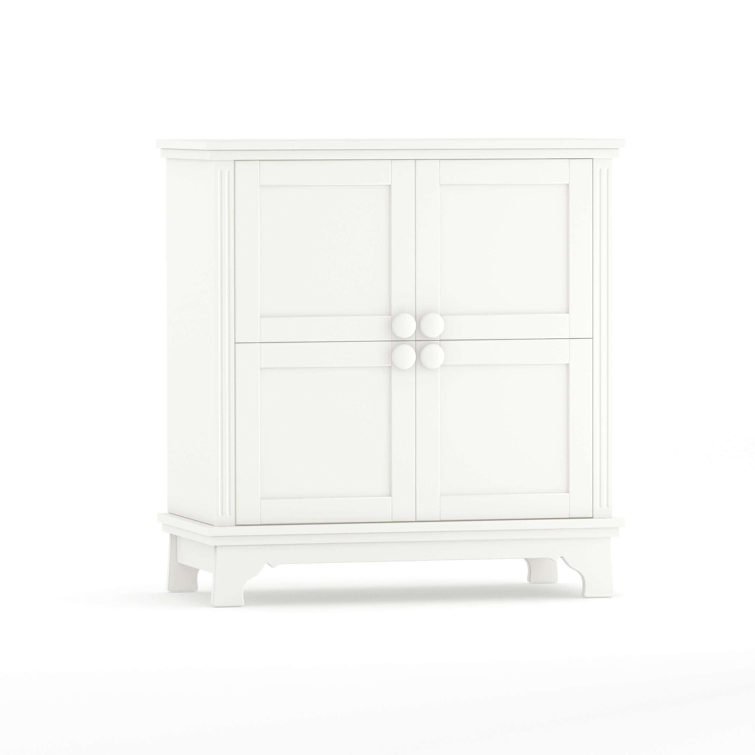Sideboard Clariss White mit 4 Türen,  Timoore