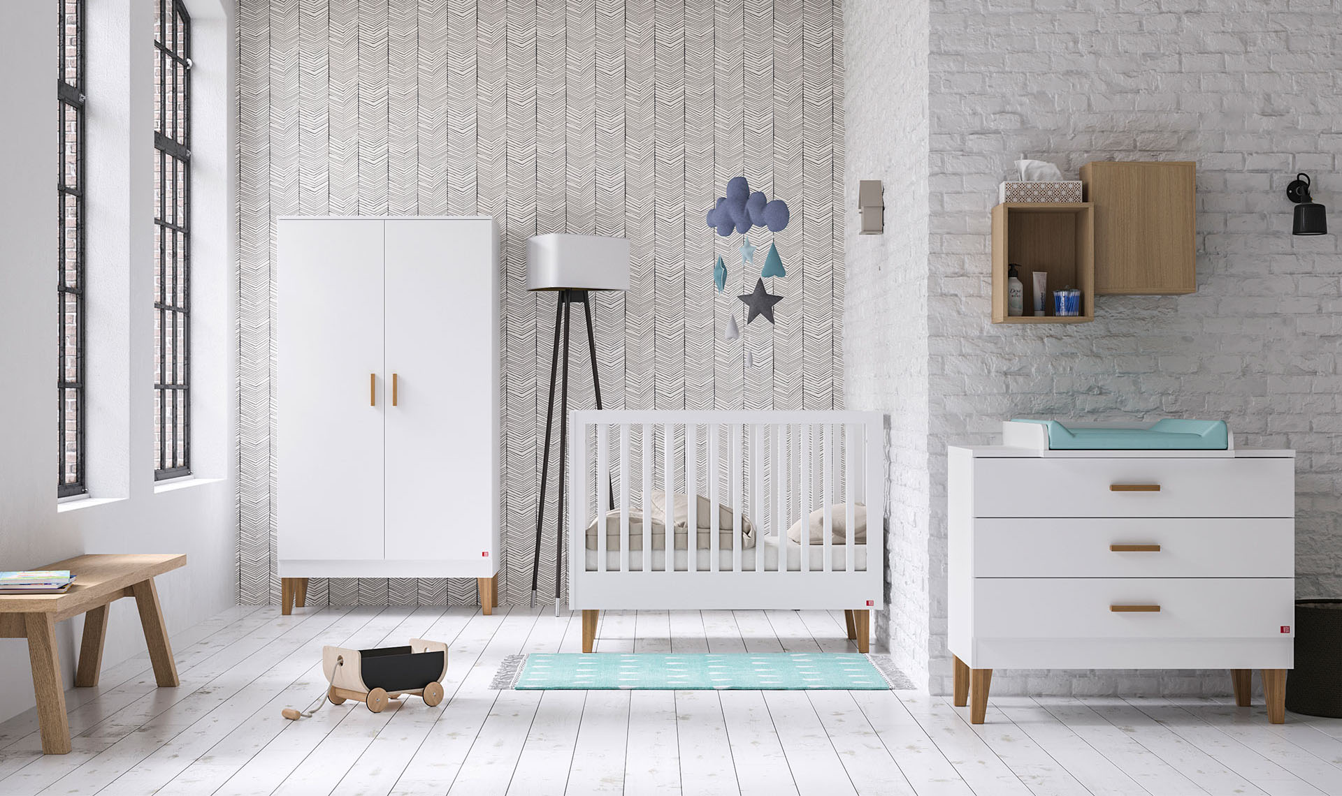 Kinderzimmer Lounge White, VOX
