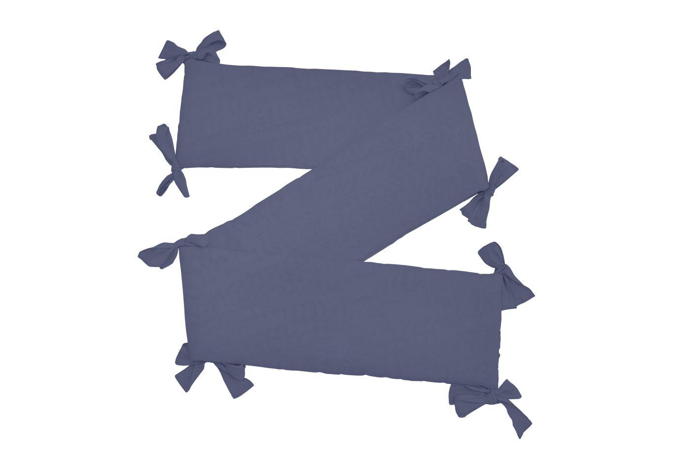 Nestchen / Kopfschutz Leinen blau