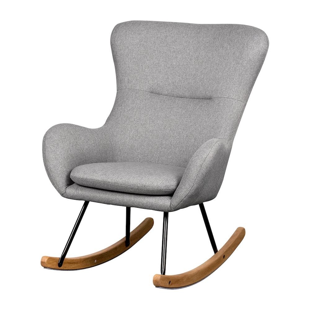 Stillstuhl / Schaukelstuhl De Luxe Basic Soft Grey, Quax
