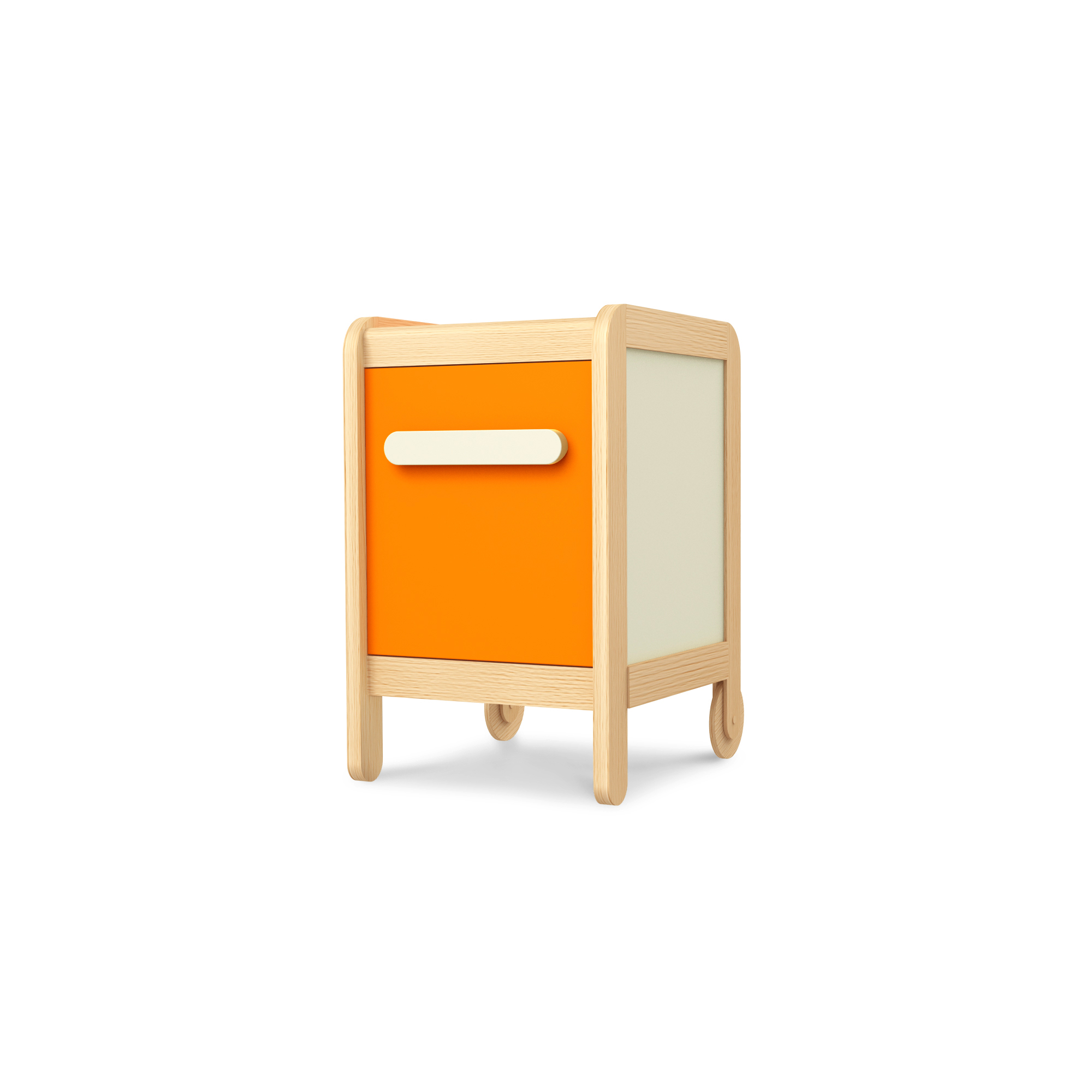 Kleine Kommode Simple Orange, Timoore