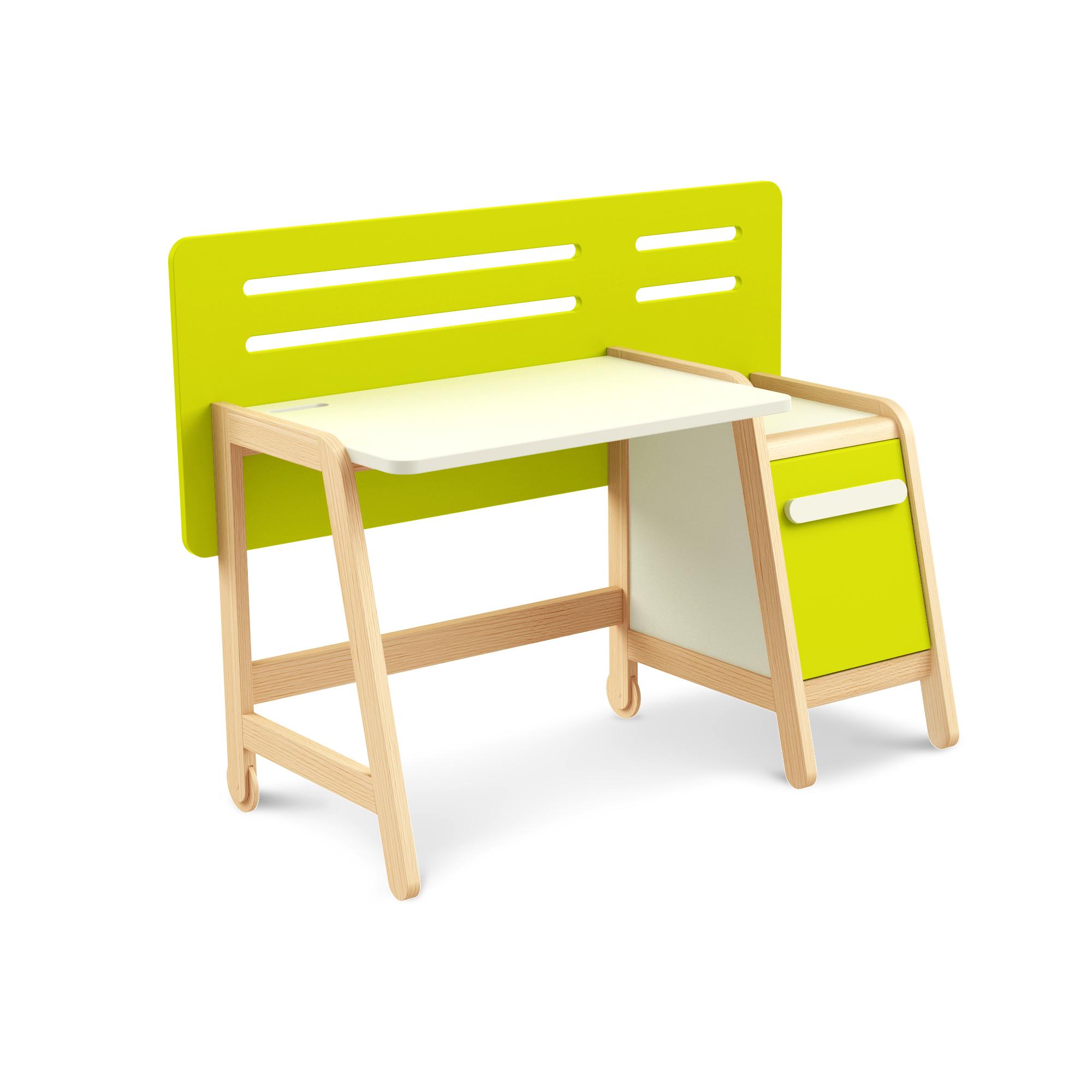 Schreibtisch Simple Green mit Container, Timoore
