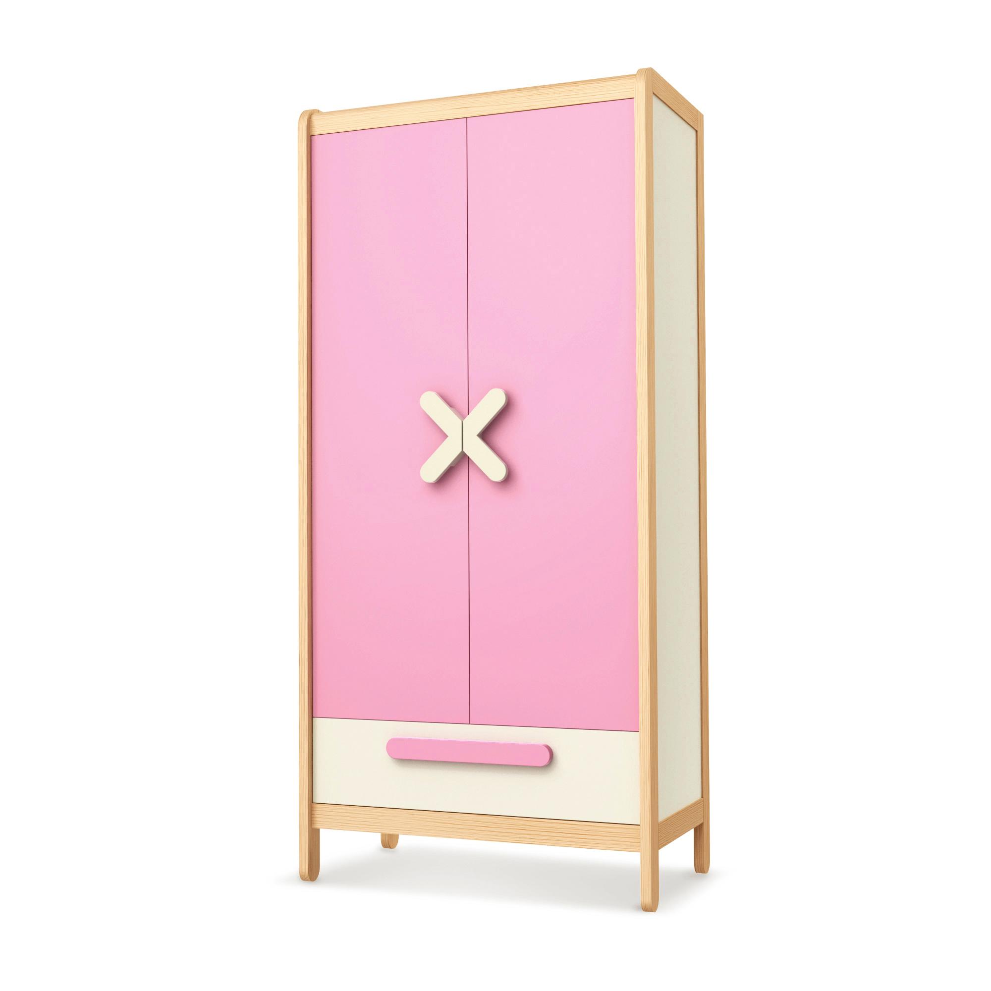 Kleiderschrank Simple Pink , Timoore