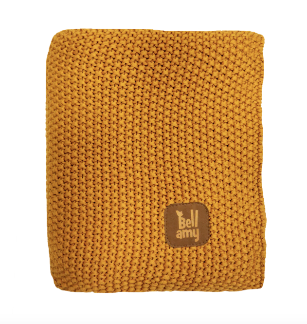 Kuscheldecke Honey Yellow, Bellamy
