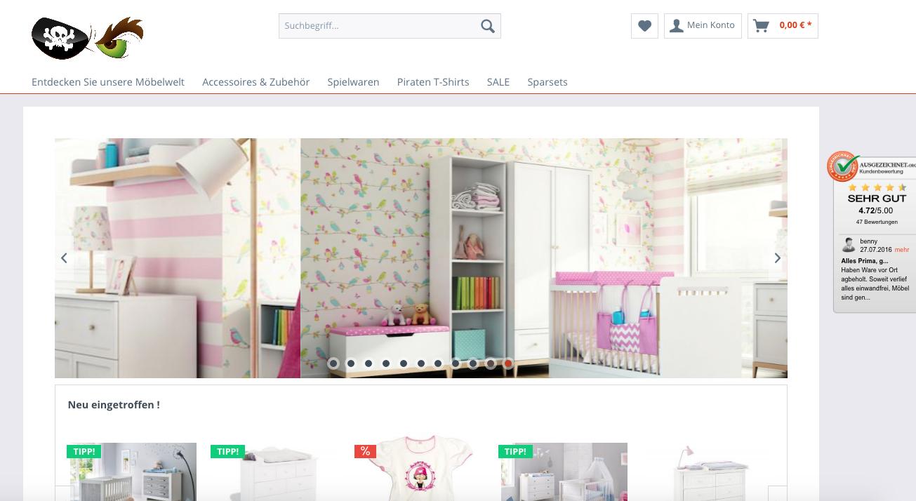 Kinderzimmer & Babymöbel - Piratenkiste Konstanz